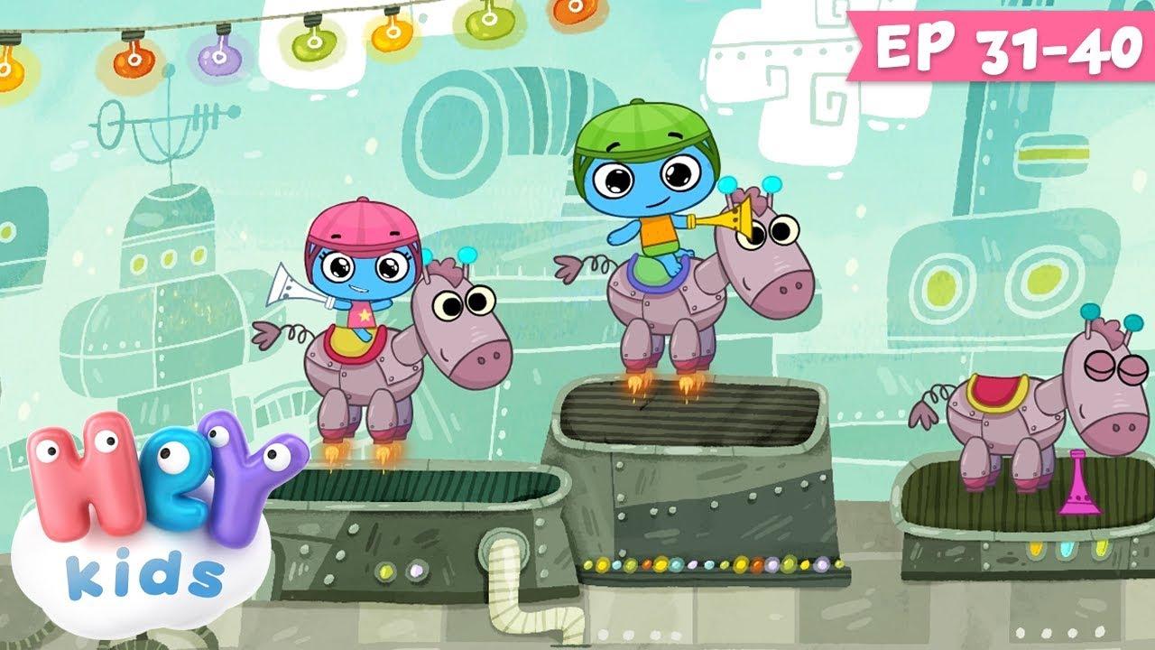 Desene animate pentru copii - KIT si KEIT | Colaj ep. 31-40 | HeyKids