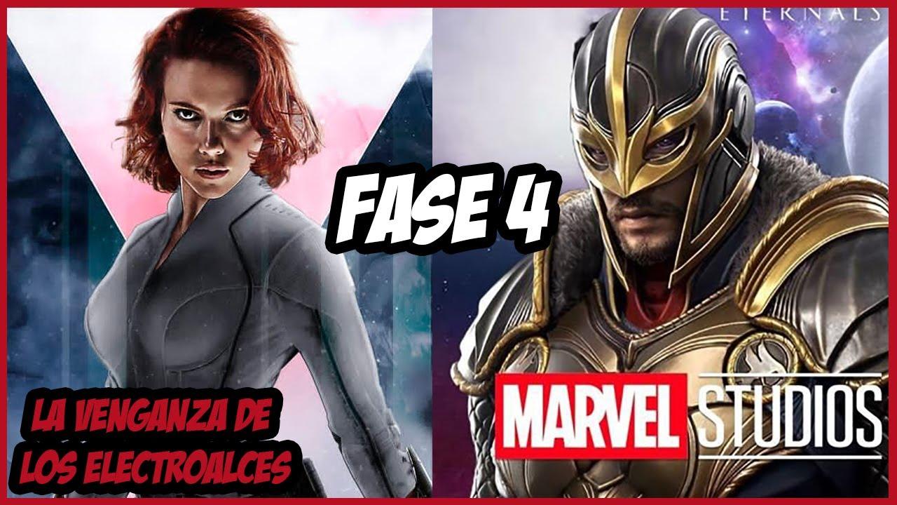 ¡Por Fin! ¡Buenas Noticias de la Fase 4 de Marvel! –