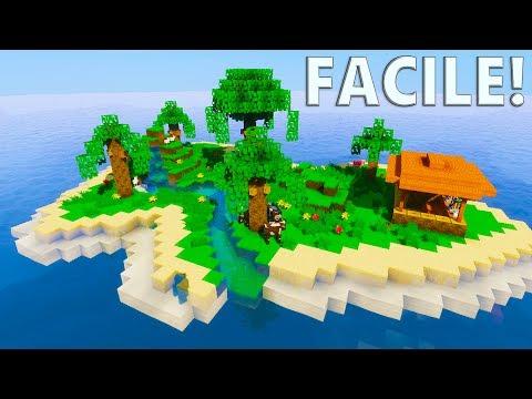 TUTO ÎLE TROPICALE ! | Minecraft