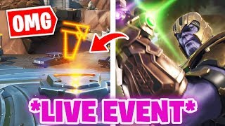 MEGA ALIEN LOOT LAKE LAKE LIVE EVENT! 😱 NEUER SKIN im SHOP - France Fortnite Saison 9 LEAKS