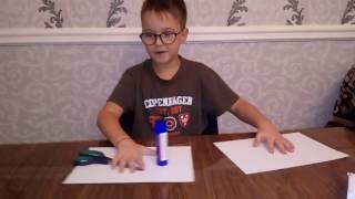 Как сделать танк из бумаги! Оригами!