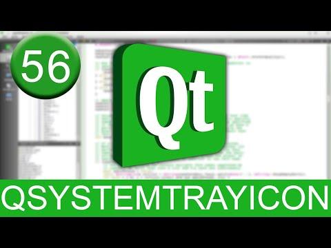 Tutorial Qt Creator - QSystemTrayIcon