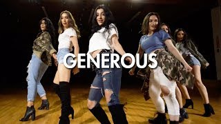 Olivia Holt - Generous (Dance Video) | Choreography | MihranTV