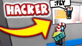 HACKER IN ROBLOX ASSASSIN!!!