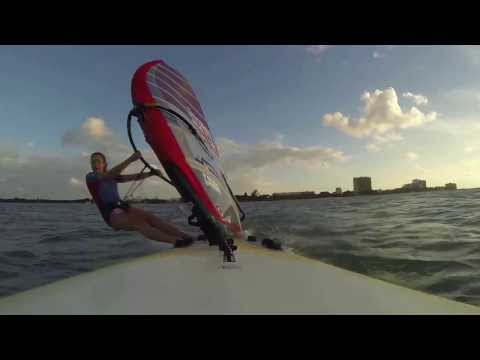 Izzy Hamilton RS:X Cozumel Windsurfing Training Camp