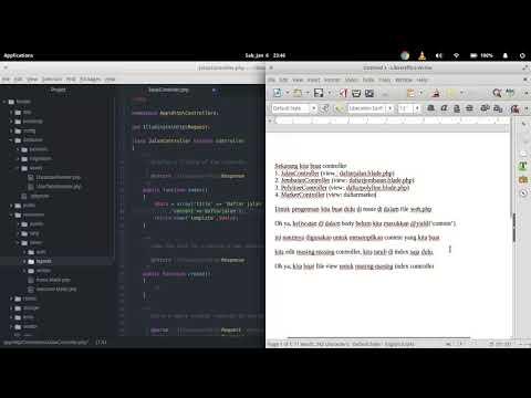 Membuat Aplikasi Menggunakan Laravel