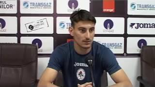 Iulian Cristea inainte de Gaz Metan FC Voluntari