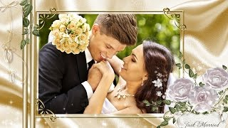 Нежное золото | Wedding Gold | Free project ProShow Producer