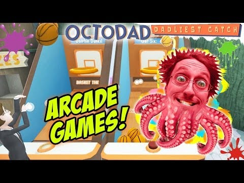 OctoDad: Dadliest Catch Part 5: My Wife Doesn't Appreciate Gifts! (PC Face Cam Arcade Commentary)
