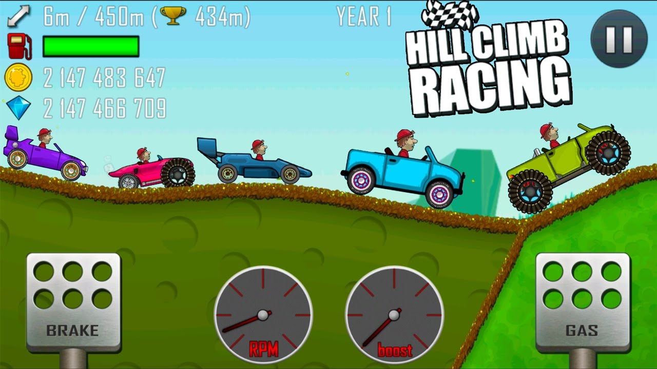 Hill Climb Racing Garage All Vehicles - ( JEEP, RACE CAR, BIG MONSTER, RALLY CAR, MONSTER TRUCK )