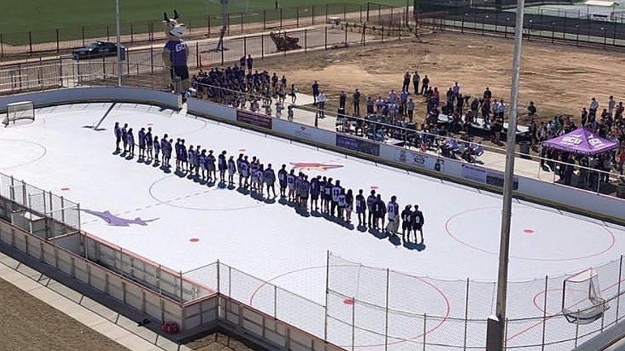 GCU & Coyotes Dek Hockey Rink Grand Opening