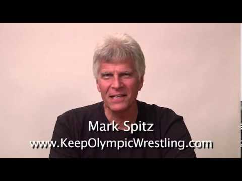 Mark Spitz PSA to Keep Olympic Wrestling