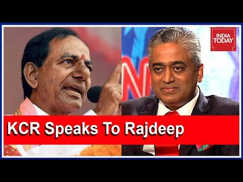 """KCR: """"BJP, Congress Are Crooked Parties"""" In Interview With Rajdeep Sardesai Ahead Of #TelanganaPolls"""