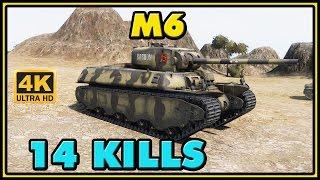 World of Tanks | M6 - 14 Kills - 4.2K Damage