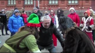 Домашнее видео «Не перевелись богатыри!» от ведущей на свадьбу в Москве Светланы Светлой