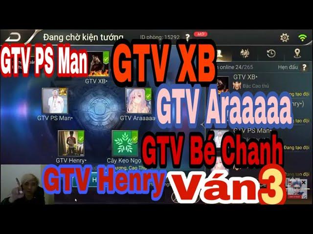 Kỷ Niệm 5 Anh Em GameTV Đánh Cùng Nhau | Team GTV Một Dàn DC Quẩy | TEAM BẤT KHẢ CHIẾN BẠI | VÁN 3