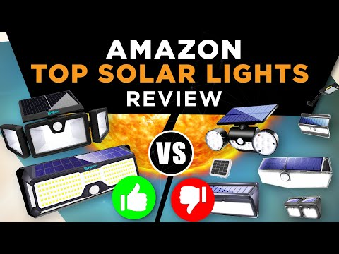 Solar Lights review: TBI Pro RaLights vs competitors! Who's top on Amazon?
