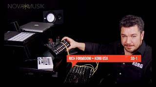 Nova Musik - Korg SQ-1 Step Sequencer with Rich Formidoni