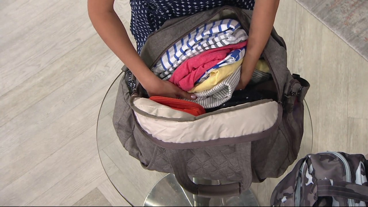 Lug Quilted Travel Bag With Rfid Pontoon On Qvc Youtube