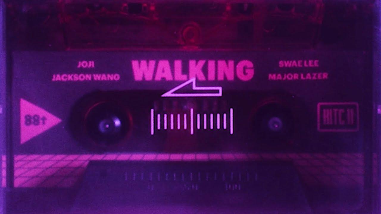Joji & Jackson Wang - Walking ft. Swae Lee & Major Lazer (Lyric Video)