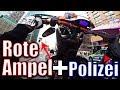 WHEELIE vor der POLIZEI  RAW in Berlin 