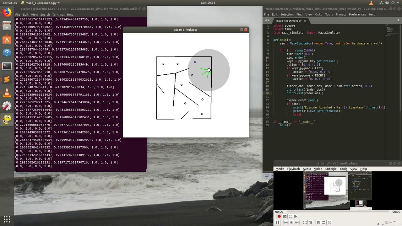 Python Maze Simulator