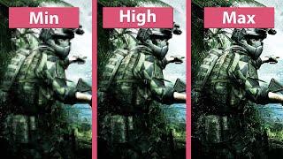 ArmA 3 Apex – Min vs. High vs. Max 4K GTX 1080 Graphics Comparison
