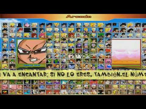 DESCARGAR MUGEN Dragon Ball AF(Edition 2018-(247 PERSONAJES))PARA PC