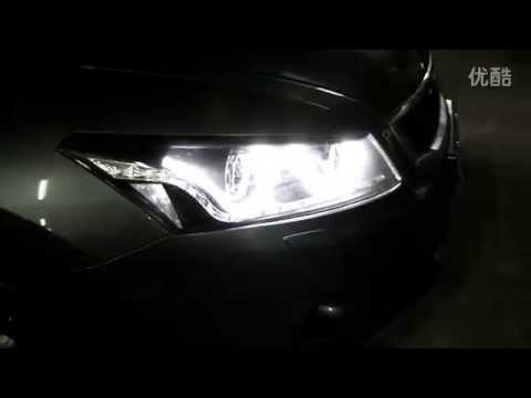 2008 2012 Honda Accord Headlight With Led Drl And Led