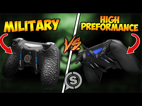 Military Grade Vs High Performance Scuf Grip (Which Is Better?)