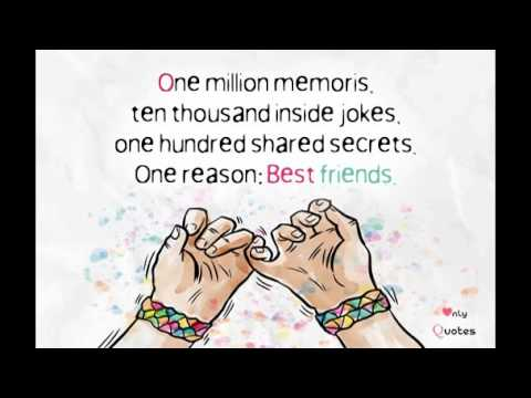 The 11 Best Short Friendship Quotes - YouTube