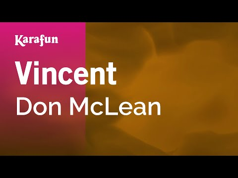 Karaoke Vincent - Don McLean *