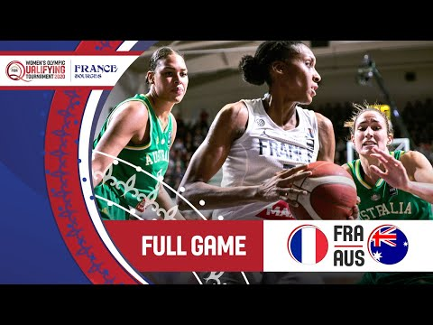 France V Australia - Full Game - FIBA Women's Olympic Qualifying Tournament 2 2020