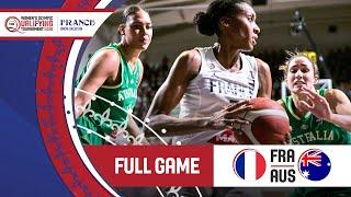 France v Australia - Full Game - FIBA Women's Olympic Qualifying Tournament 2 2020