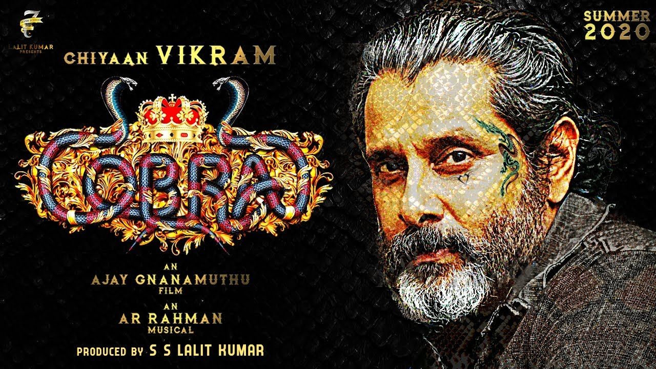Image result for Chiyaan Vikram in Cobra movie First Look Update