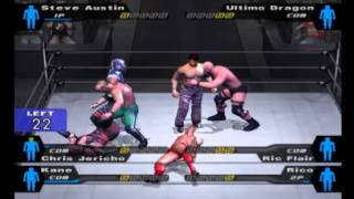 WWE Smackdown Here comes The Pain(PC using pcsx2)