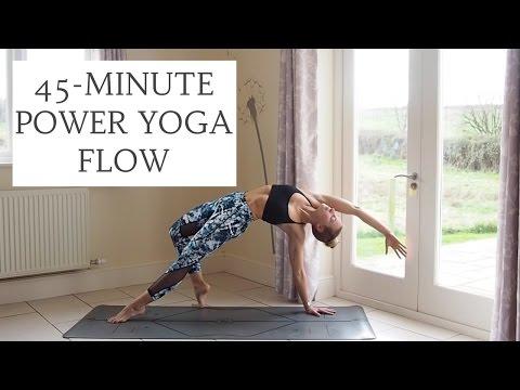 Yoganuary 4 45 Minute Power Yoga Flow Cat Meffan Youtube