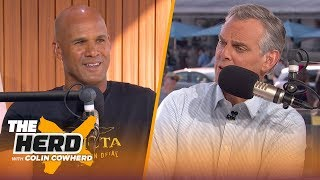 Jason Taylor on playing in Miami with Jimmy Johnson, Super Bowl & more   THE HERD   LIVE FROM MIAMI