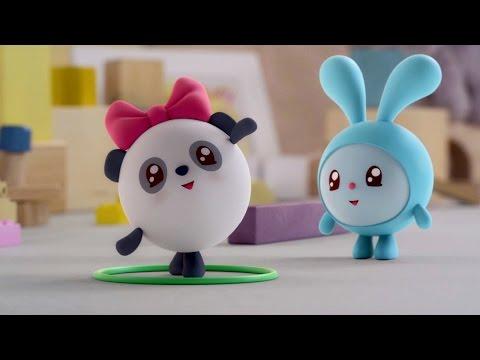 Малышарики - Обруч - серия 29 - обучающие мультфильмы для малышей 0-4