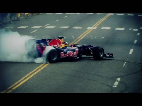 F1 on the streets of the Domincan Republic - Jaime Alguersuari