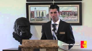 2015 Dr. Kenneth K. Bateman Outstanding Alumni Reception (full program) - Pittsburg State University