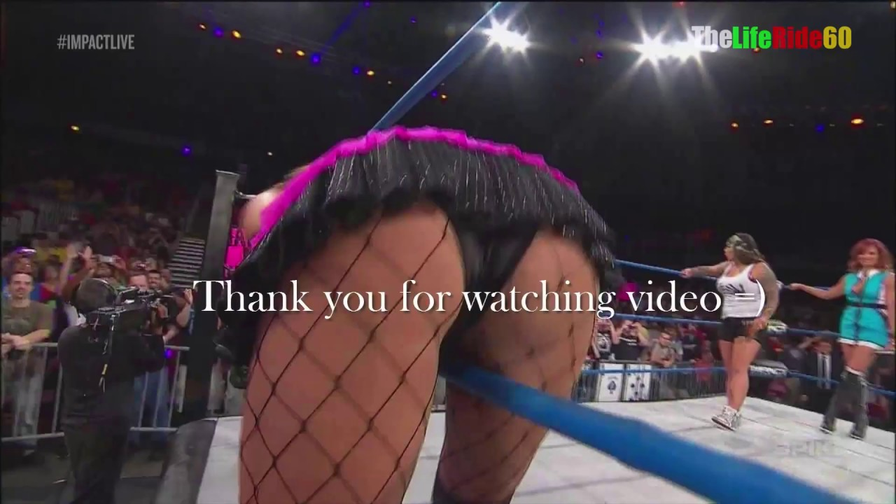 TNA Velvet Sky Nice Ass WOW!