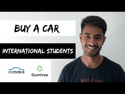 Buy A CAR As An International Student | STUDY IN AUSTRALIA