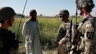 Soldiers Try To Win Hearts And Minds By Visiting Village Schools In Kandahar
