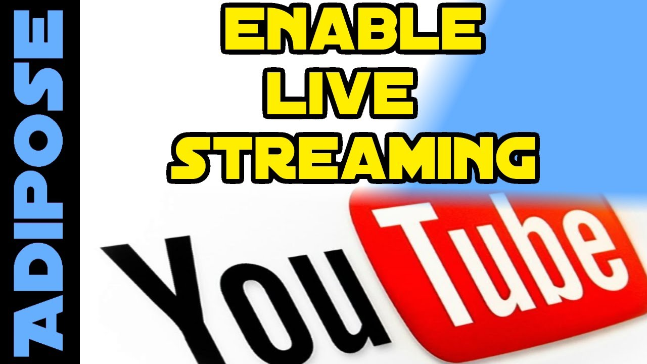 how to enable youtube live