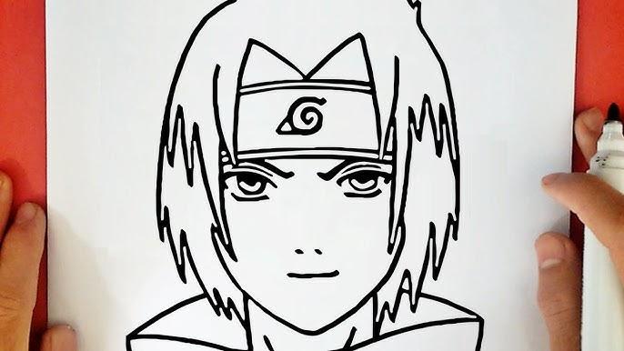 Comment Dessiner Sasuke De Naruto Youtube
