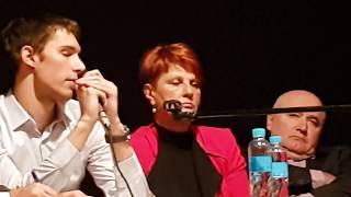 Marijan Knezović u Narodnom Sveučilištu Dubrava