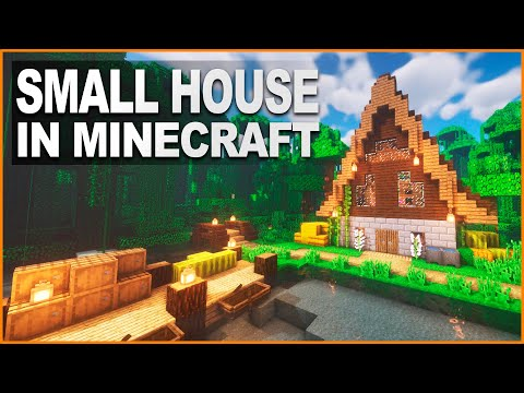 Small Survival House Tutorial How To Build In Minecraft Buildtheearth
