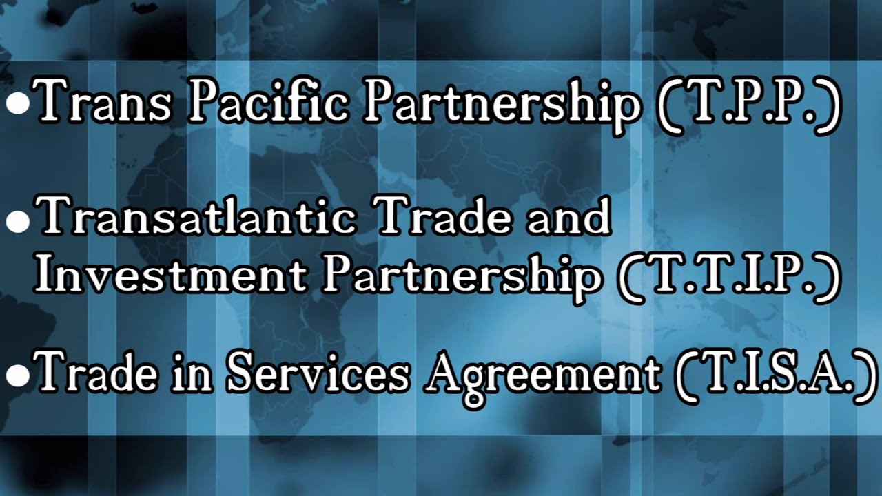 3 Secret Trade Agreements Obama Is Pushing On America Youtube