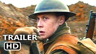 1917 Trailer (2019) Richard Madden, Benedict Cumberbatch, Drama Movie